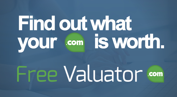 Free Valuator - Free domain appraisal